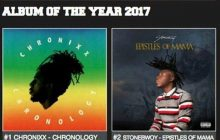 Stonebwoy's  album rated number 2 in the world