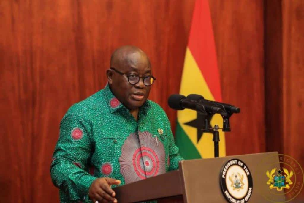 President Akuffo Addo Lifts Ban On All Church Activities & Number Of Congregants